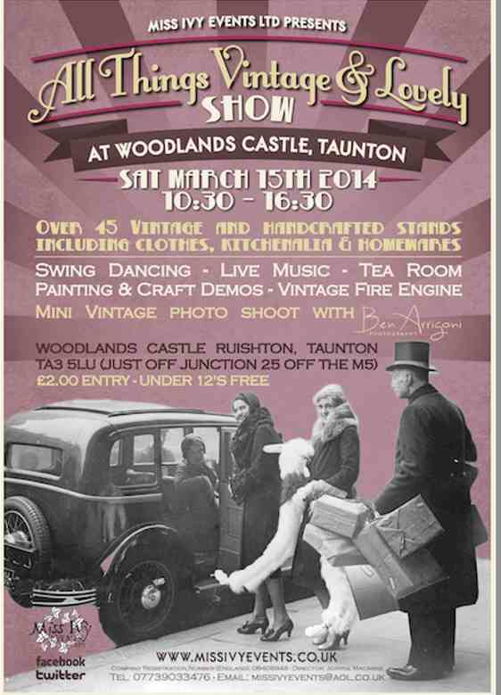 All things Vintage & Lovely Show @ Woodlands Castle