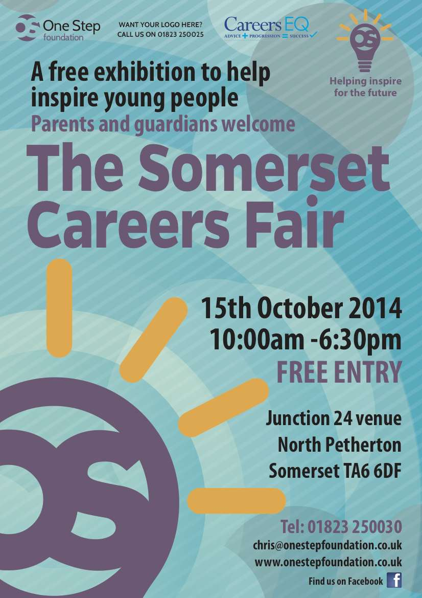 One Step Foundation Somerset Careers Fair @ Junction 24 | North Petherton | England | United Kingdom