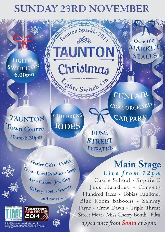 Christmas Festival @ Taunton Town Centre