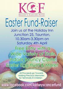 Kelsey's Easter Fund-Raiser @ Holiday Inn Taunton | Taunton | United Kingdom