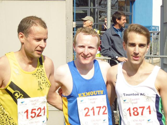 Taunton Half Marathon Mens winners