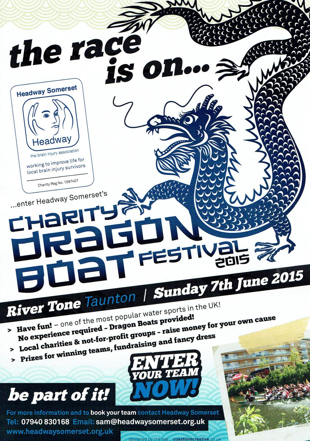 The Dragon Boat Festival @ River Tone | Taunton | United Kingdom
