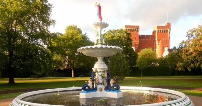 vivary fountain