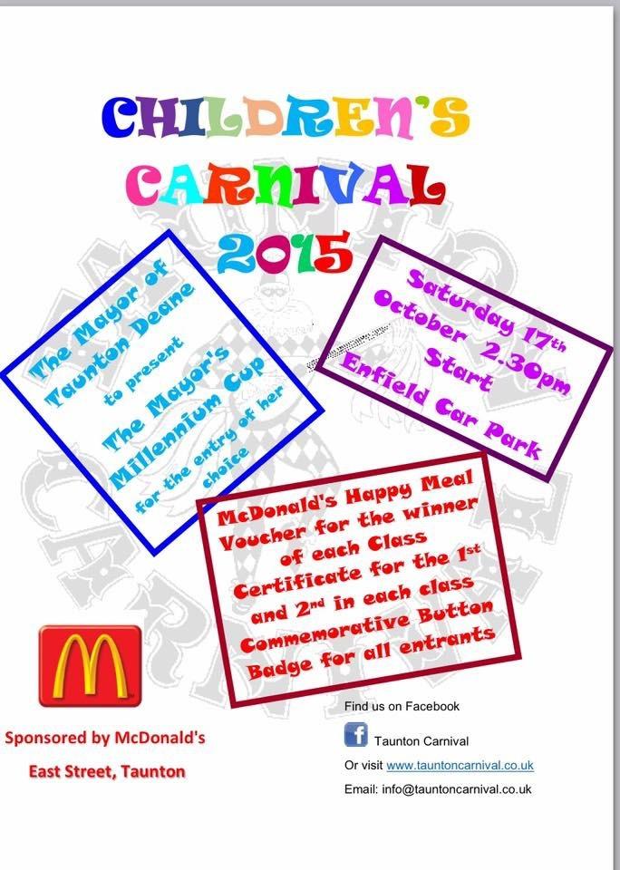 Children's Carnival @ Enfield Car Park, Taunton