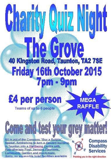 Charity Quiz Night @ The Grove Pub, Kingston Road