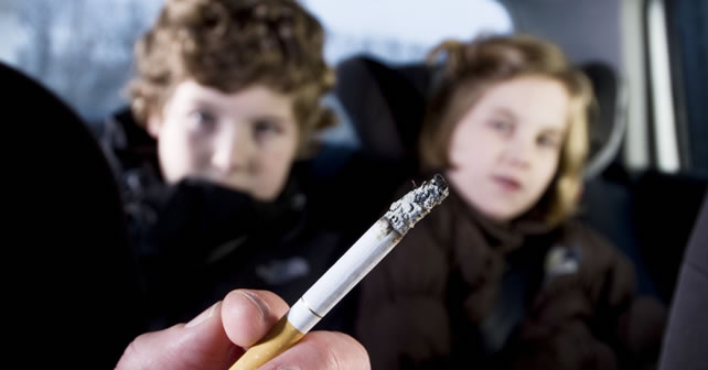 Smoking Prohibited with Minors in Vehicles