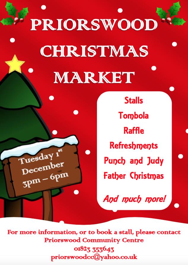 Priorswood Christmas Market @ Priorswood Community Centre