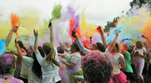 Image result for great somerset colour run#