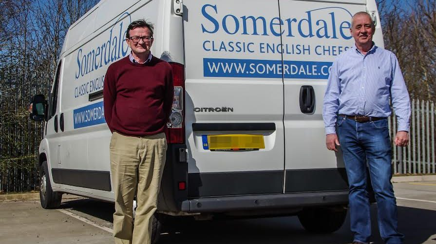 Ernie Waldron (L) and Stephen Jones (R) Directors and co founders of Somerdale International