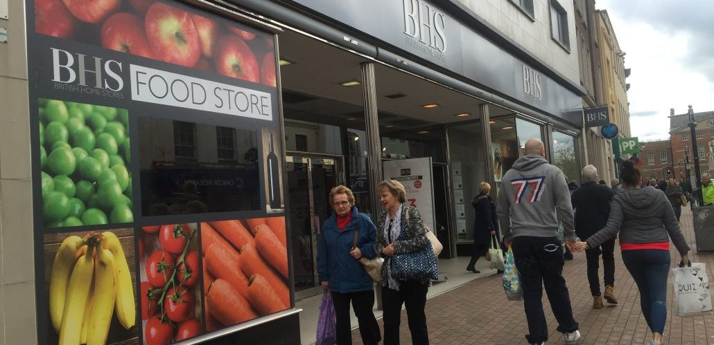 Gym And Retail Plans At Former BHS In Taunton Approved