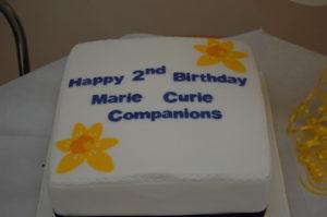 Companions 2 year cake