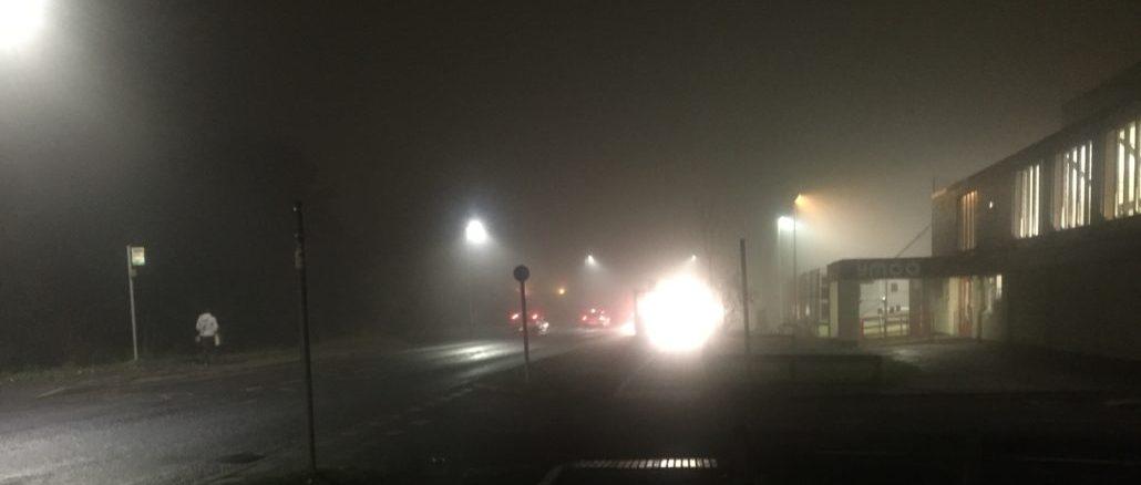 Foggy Night In Taunton (Photo: Apple FM)