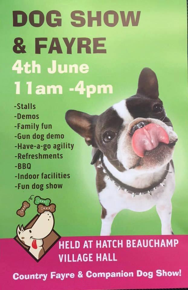 Hatch Beauchamp Dog Show