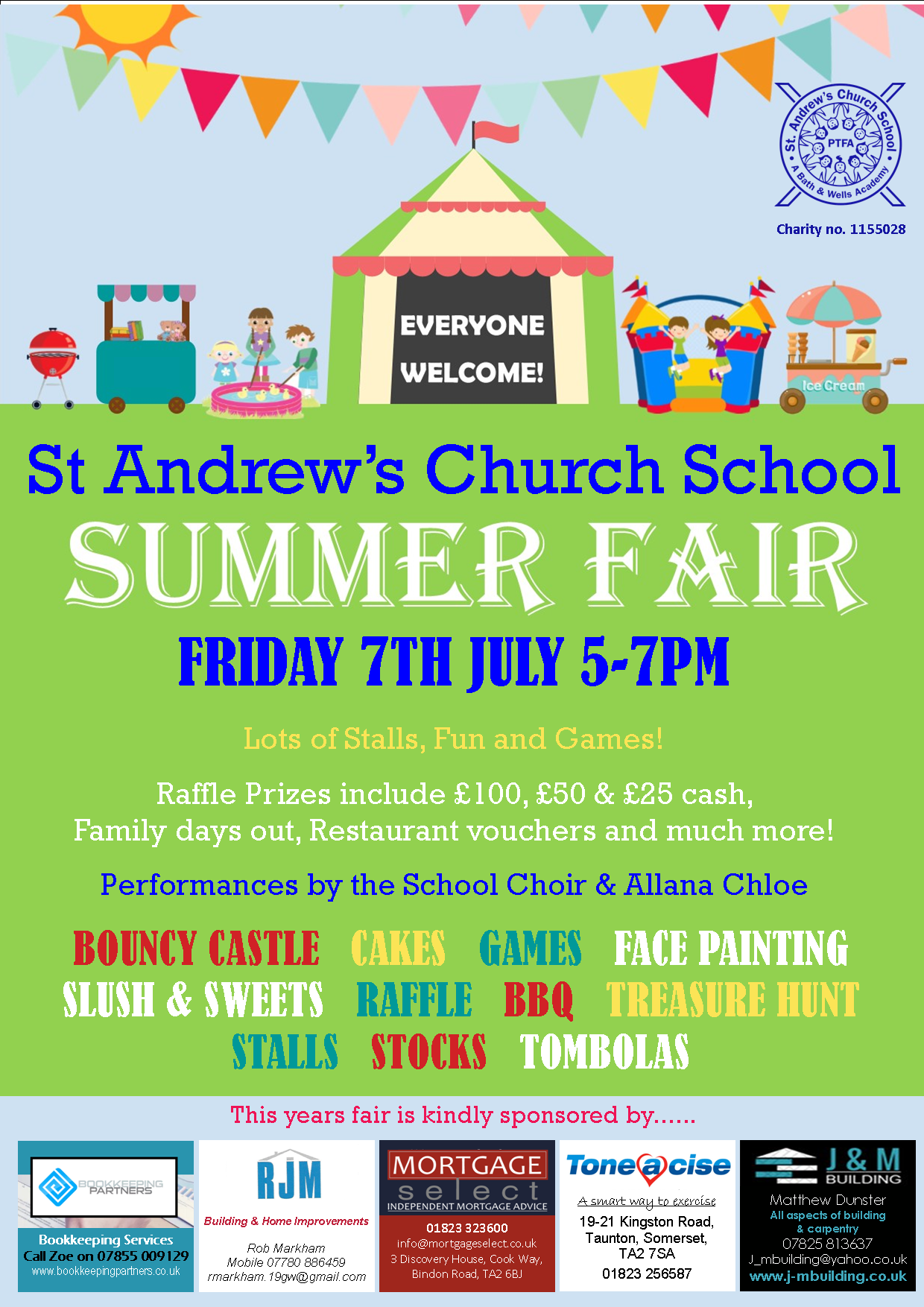 Summer Fair @ St Andrews Church School @ St Andrews Church School | England | United Kingdom