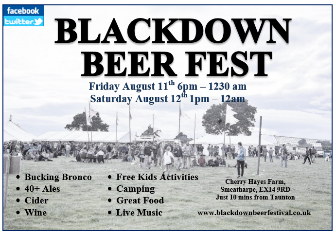 Blackdown Beer Fest @ Cherry Hayes Farm @ Cherry Hayes Farm | Smeatharpe | England | United Kingdom