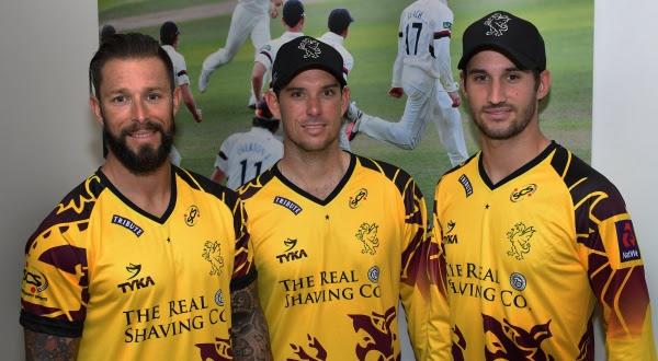 Somerset County Cricket Club launch new NatWest T20 Blast shirt