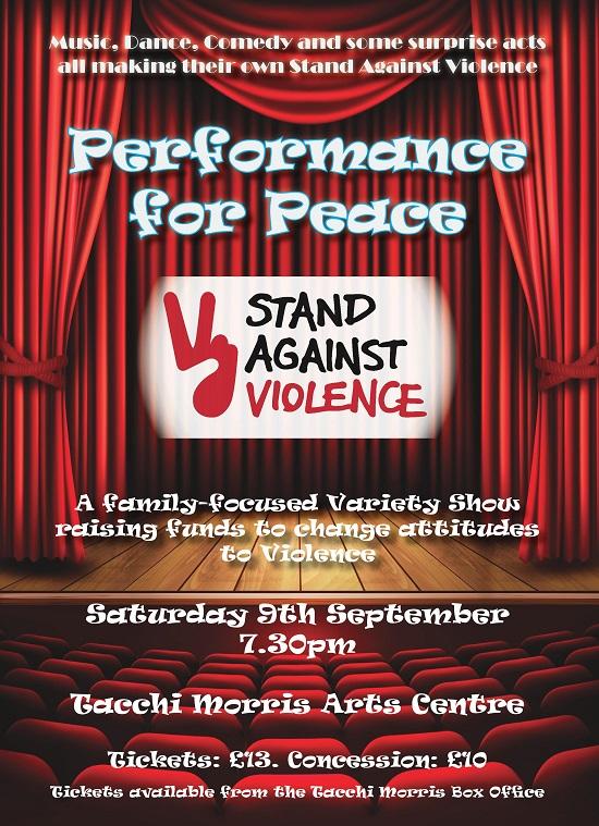 Performance for Peace @ Tacchi Morris Arts Centre @ Tacchi Morris Arts Centre | Monkton Heathfield | England | United Kingdom