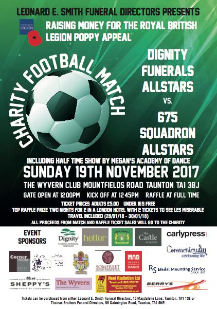 Charity Football Match @ The Wyvern Club @ The Wyvern Club | England | United Kingdom