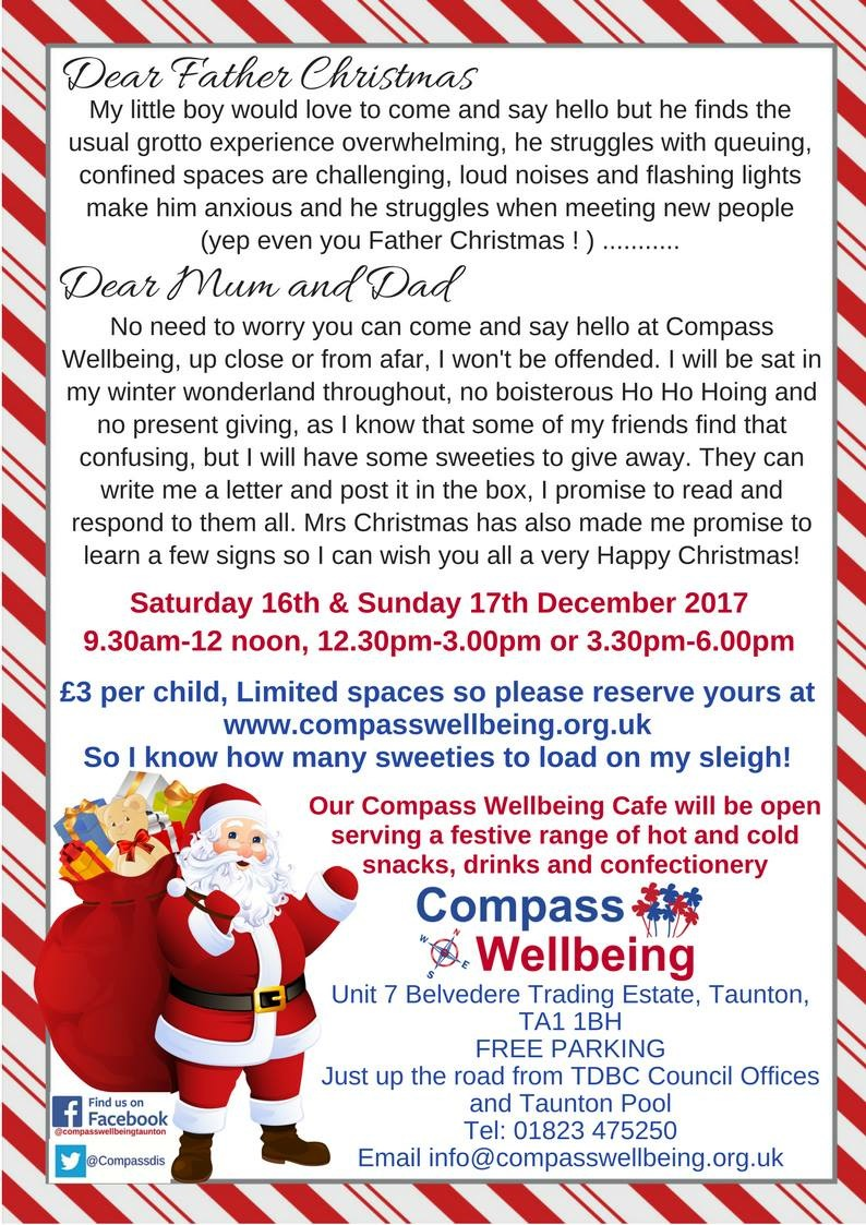 Shy Kids Meet Santa @ Compass Wellbeing Centre | United Kingdom