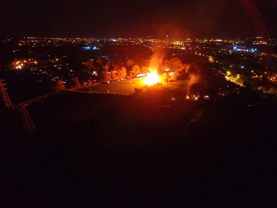 Staplegrove Fireworks Display @ Manor Road, Staplegrove | England | United Kingdom