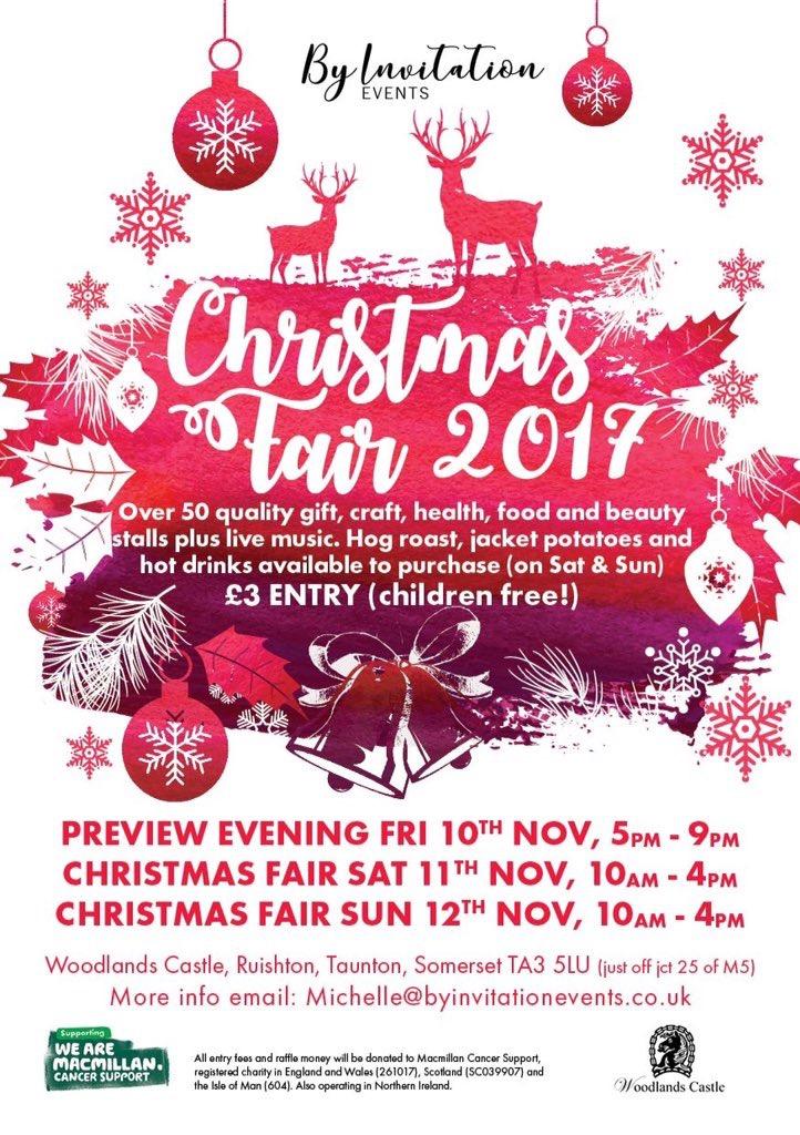Christmas Fair @ Woodlands Castle | Ruishton | England | United Kingdom