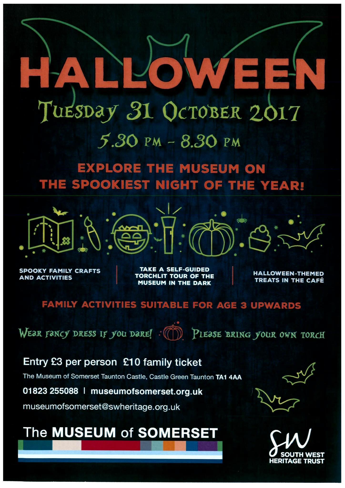 Halloween @ Museum of Somerset | England | United Kingdom