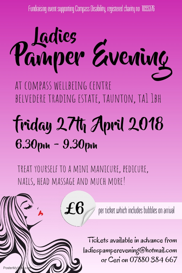 Ladies Pamper Evening @ Compass Wellbeing Centre | England | United Kingdom