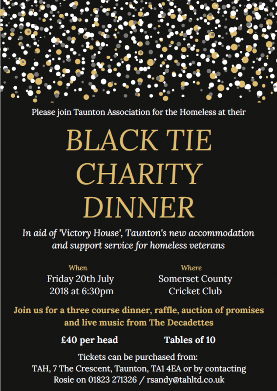 Black Tie Charity Dinner @ Somerset County Cricket Club | England | United Kingdom