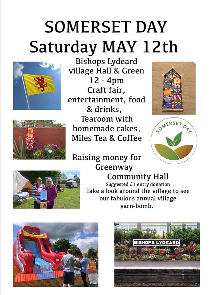 Somerset Day @ Bishops Lydeard Village Hall | Bishop's Lydeard | England | United Kingdom