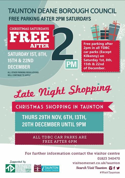 Late Night Christmas Shopping @ Taunton | England | United Kingdom