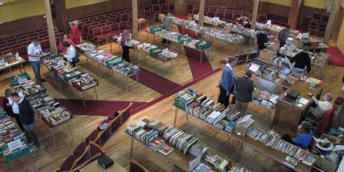 Book Sale for Christian Aid @ Taunton Baptist Church