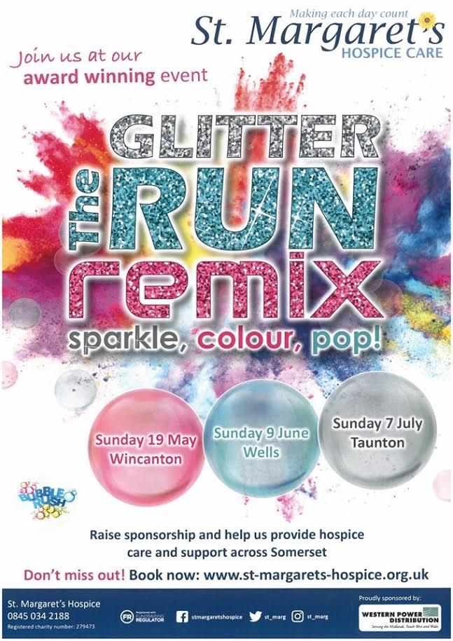 Glitter Run @ Taunton Racecourse