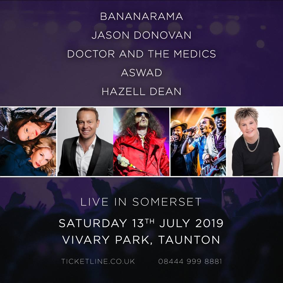 Live In Somerset Presents Bananarama @ Vivary Park