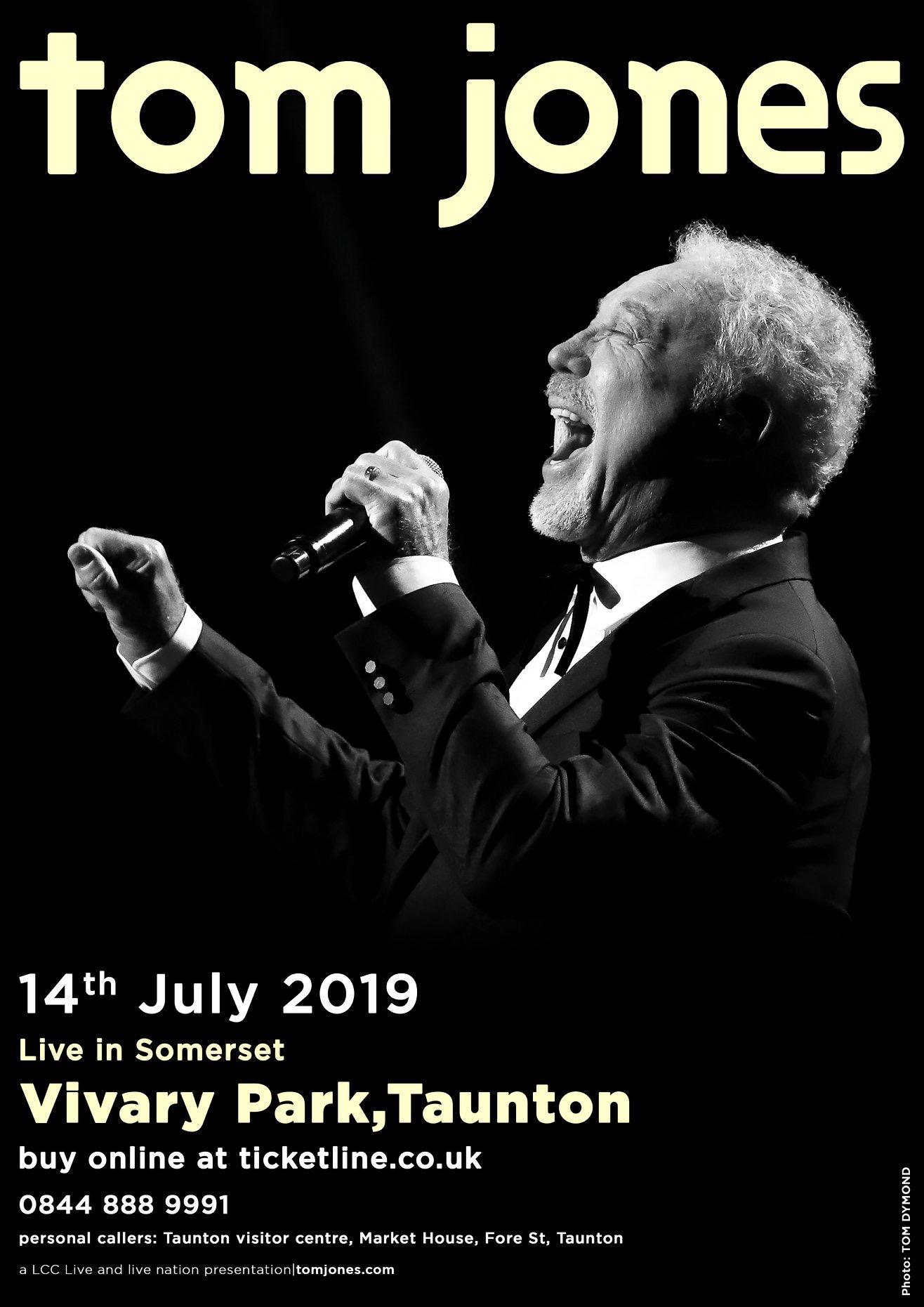 Live In Somerset Presents Tom Jones @ Vivary Park