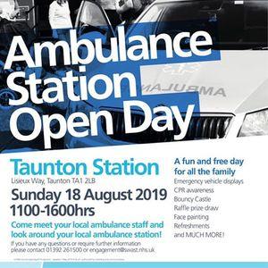 Ambulance Station Day @ Taunton Ambulance Station