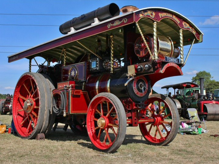 WSRA Steam and Vintage Rally @ West Somerset Railway Association Fields at the Norton Triangle