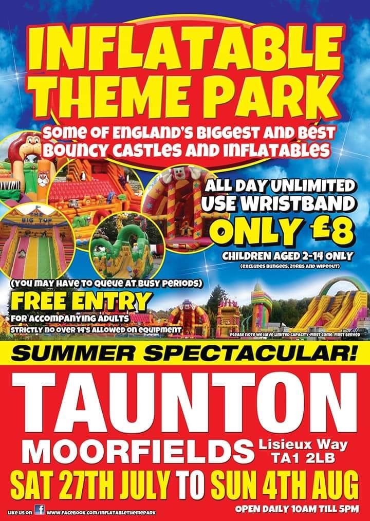 Inflatable Theme Park @ Moorfields