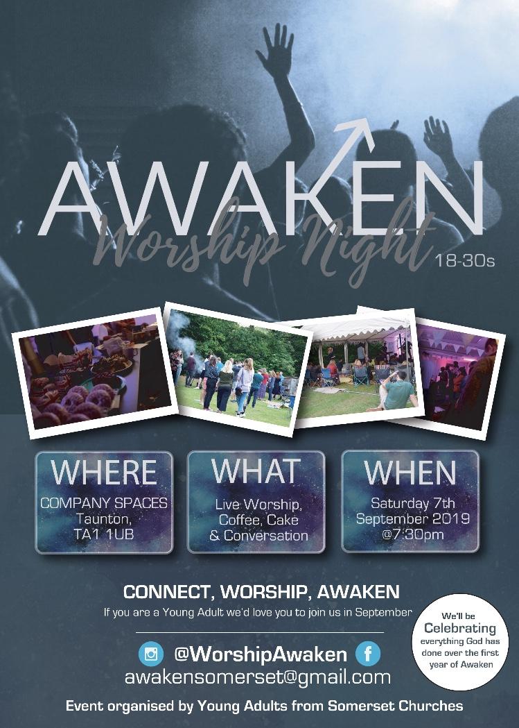 Awaken Worship Night (18-30s) @ COMPANY