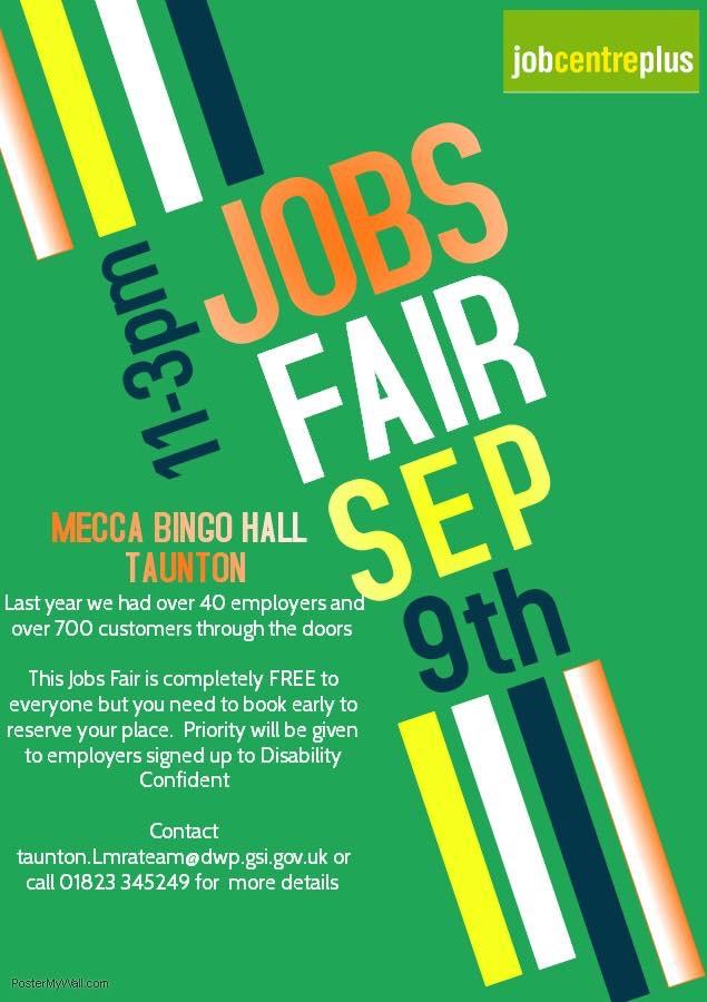 Jobs Fair @ Mecca Bingo